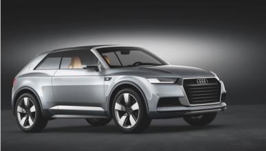 Audi Crosslane Coupé lateral