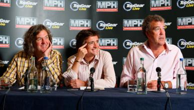 Top Gear: Clarkson, May y Hammond renuevan hasta 2015