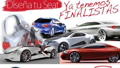 Los ganadores del concurso de diseño Seat, el 24 de octubre