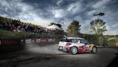 Loeb, a un paso de su noveno título en Francia