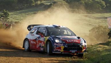 Loeb ya es líder en el Rally de Italia 2012