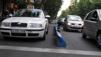 Los taxistas de Madrid, bien vestidos y con la ESO