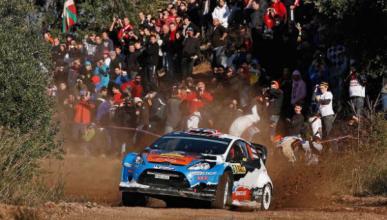 Otsberg, primer líder del Rally de España 2012