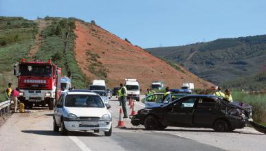 Los accidentes de tráfico son la octava causa de mortalidad