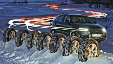 Comparativa de neumáticos de invierno 2012