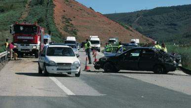 1.304 fallecidos en carretera, los mismos que en 1960