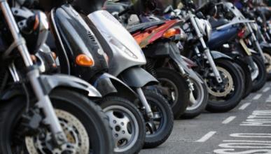 La matriculación de motos y ciclomotores caen casi un 40%