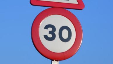 La Unión Europea planea reducir el límite urbano a 30 km/h
