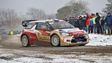 Loeb sigue imparable en el Rally de Montecarlo 2013