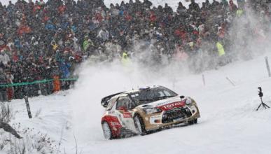 Loeb, líder en el Rally de Montecarlo 2013. Sordo, tercero.