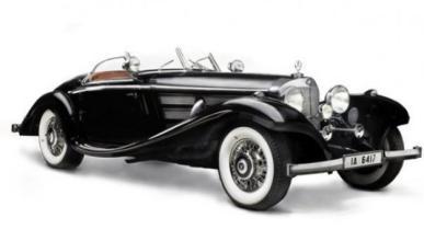 Los coches más caros subastados en 2012
