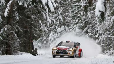 Loeb y Ogier mandan el primer día del Rally de Suecia 2013