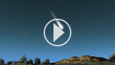 Graba desde su coche la caída de un meteorito en Rusia