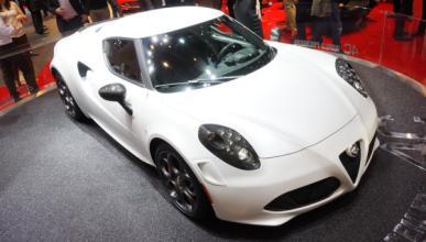 Alfa Romeo 4C Salon de Ginebra 2013