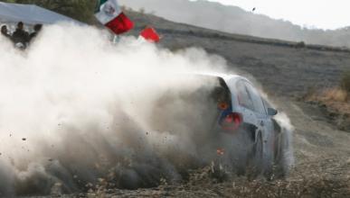Ogier, líder en el Rally de México 2013