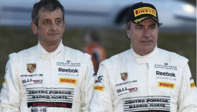 Vídeo: Carlos Sainz y Luis Moya no pierden fuelle