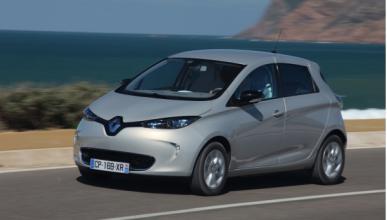 Renault Zoe eléctrico delantera