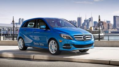 Mercedes Clase B Electric Drive lateral
