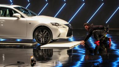 El director de Top Gear rueda el spot del Lexus IS 300h