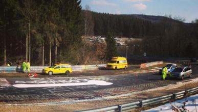 Nürburgring cierra por culpa de un pene gigante