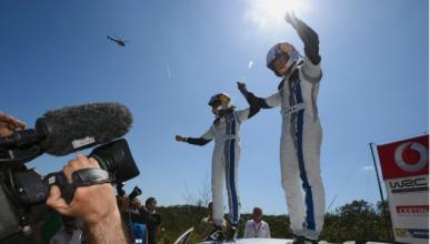 Ogier consigue el triunfo en el Rally de Portugal 2013