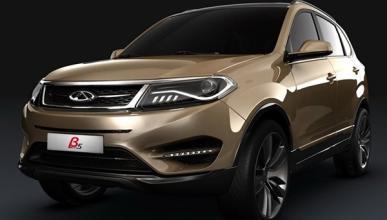 Chery Beta 5 Concept: la amenaza china para el segmento SUV