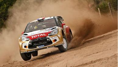Loeb, nuevo líder en el Rally de Argentina 2013