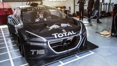 Sebastien Loeb prueba el Peugeot 208 T16 Pikes Peak