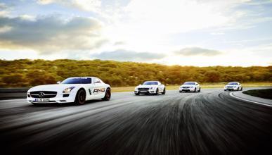 Mercedes nos da un curso de conducción segura en el Jarama