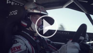 Loeb entrena con el Peugeot 208 T16 para el Pikes Peak