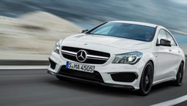 ¿Cómo sería el Mercedes CLA 45 AMG coupé?