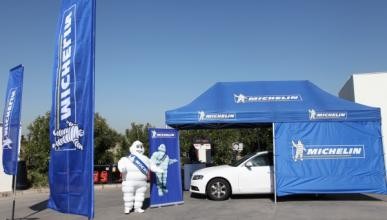 Michelin revisará neumáticos gratis en estaciones Repsol