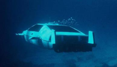 El Lotus Esprit submarino de James Bond saldrá a subasta