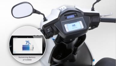 A4000i: el primer ciclomotor que se sincroniza con el móvil