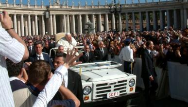 El Papa Francisco no usará el Papamóvil en la JMJ 2013