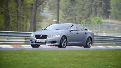 Accidente del Jaguar XJ Supersport Ring Taxi en Nürburgring