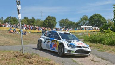 Rally Alemania 2013. Latvala vuela en el shakedown