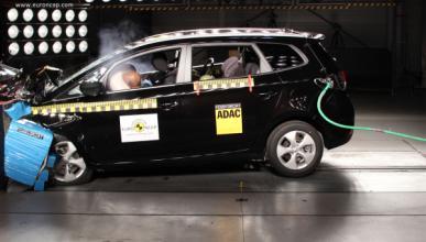 La seguridad del Kia Carens, cinco estrellas Euro NCAP