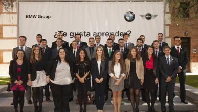 BMW beca a 27 jóvenes españoles para formarse en Alemania