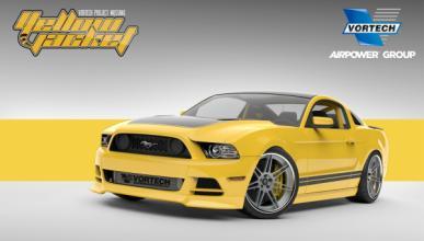 Un Ford Mustang con 605 CV para el SEMA 2013