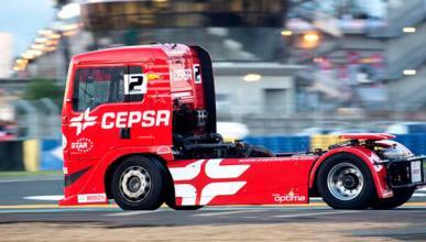 Antonio Albacete, subcampeón de Europa Camiones en Le Mans