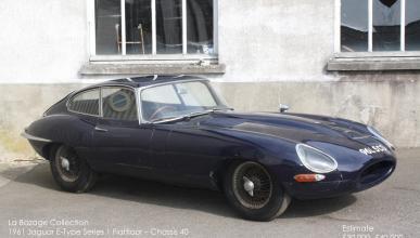 Un Jaguar E-Type de 1961 y un XK120 Roadster, a subasta