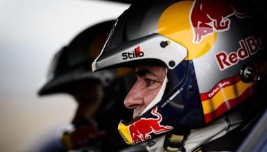 Carlos Sainz se prepara para el Dakar 2014