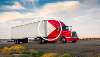 Vídeo: pruebas de slalom ¡con un camión!