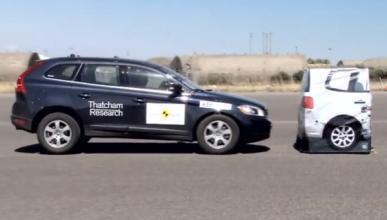 Resultados EuroNCAP para la frenada autónoma