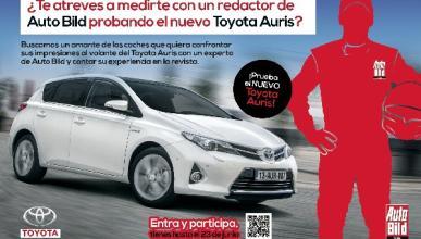 El nuevo probador del Toyota Auris es...