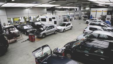 Roban 22 coches en una empresa de alquiler de Madrid