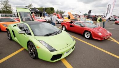 Tres Lamborghini arden en Singapur