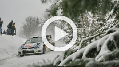 Latvala prueba el Volkswagen Polo WRC 2014 en Montecarlo