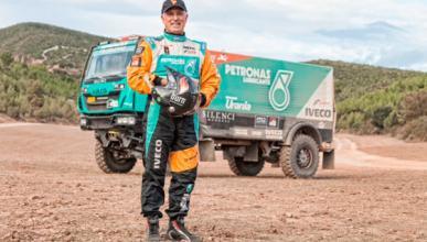 Dakar 2014: Pep Vila, a por todas con su camión Iveco